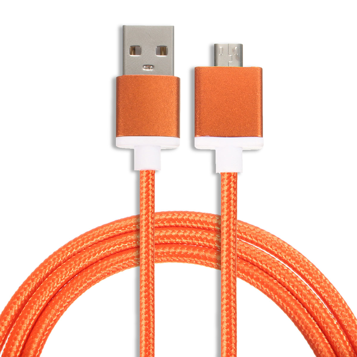 Universial 1M/3.3ft 2.4A Metal Magnetic Micro USB Charger Data Cable Adapter for Android Phone Tablet