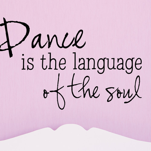 Belvedere Designs LLC Dance Language of the Soul Wall Decal