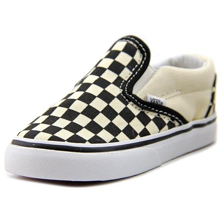 Vans Classic Slip-On Toddler  Round Toe Canvas Multi Color Sneakers