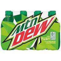 Mtn Dew Soda 8-12 fl. oz. Pack