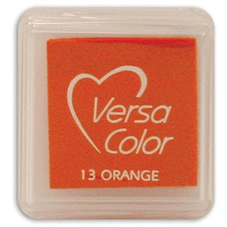 Small-Size VersaColor Ultimate Pigment Inkpad, Orange, Versacolor is Tsukineko's ultimate pigment ink; it is offered in artistically-coordinated hues and.., By Tsukineko From USA
