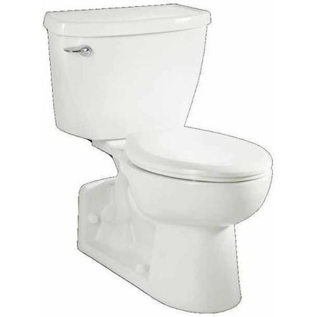 American Standard 2878.100.020 Yorkville Right-Height Elongated Pressure Assisted Two-Piece 1.1 GPF Toilet, Available in Various Colors