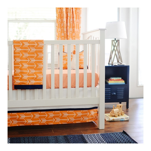 New Arrivals Out and About 4 Piece Crib Bedding Set