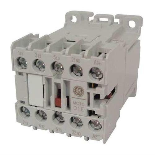 GENERAL ELECTRIC MC0A301ATJ Contactor, IEC, 120VAC, 3P, 6A