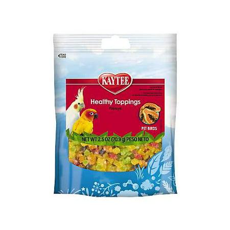 Kaytee Fiesta Papaya Healthy Toppings Bird Treat (pack of - Kaytee Fiesta Shape