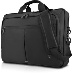 V7 15.6in Laptop Case Single Slim 16in Topload Trolley Black