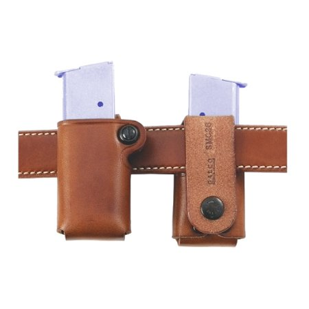 Galco Single Mag Case - GALCO SINGLE MAG CASE SNAP 26 FITS BELTS UP TO 1.75