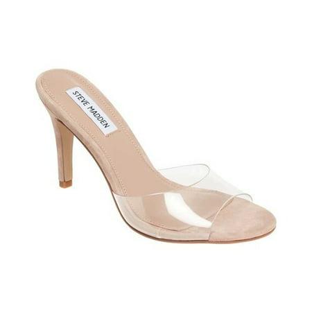 Steve Madden Erin Women's Open Toe Stiletto Slide Sandals
