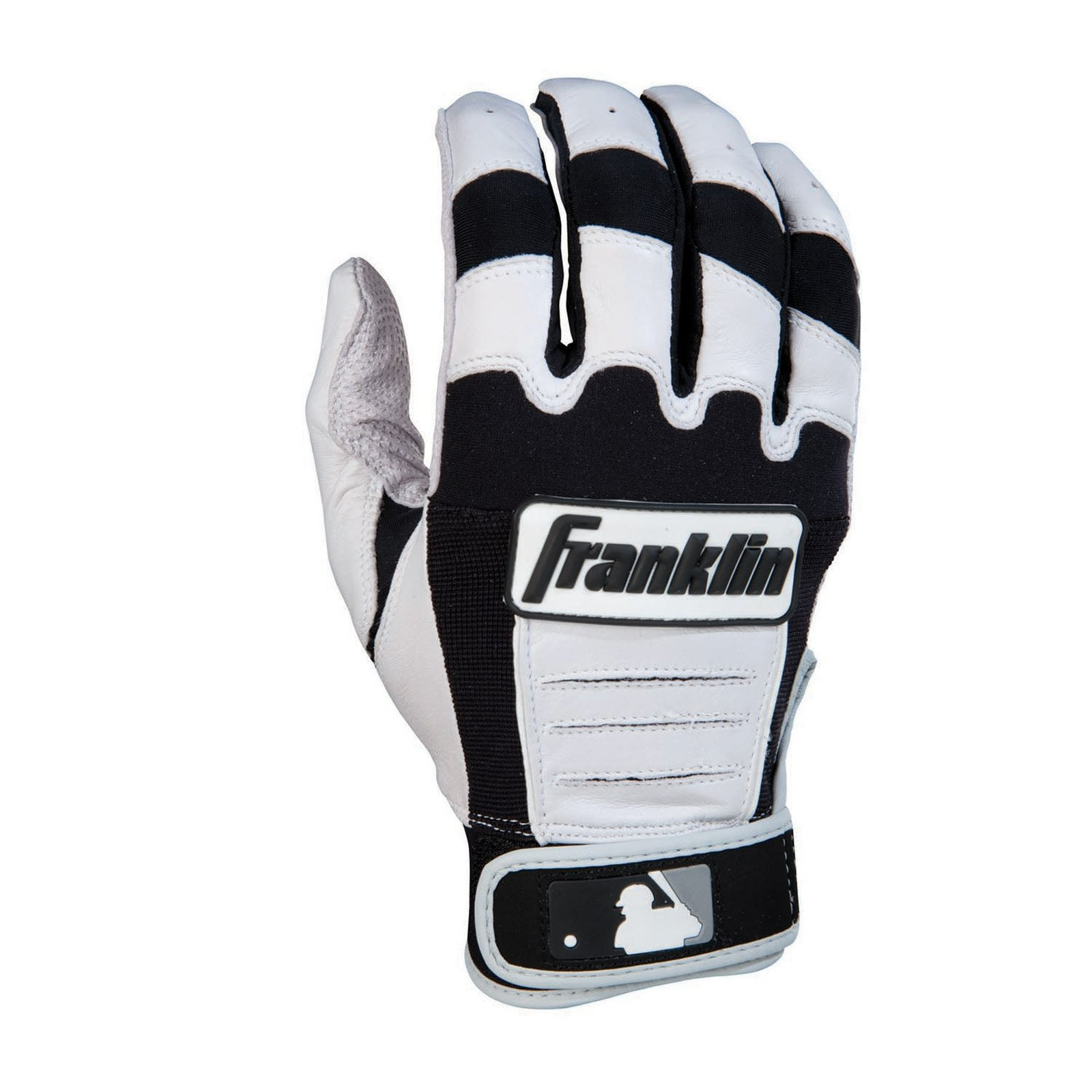 Black batting gloves - Franklin Sports Cfx Pro Series Adult Batting Gloves Pearl Black Small Walmart Com