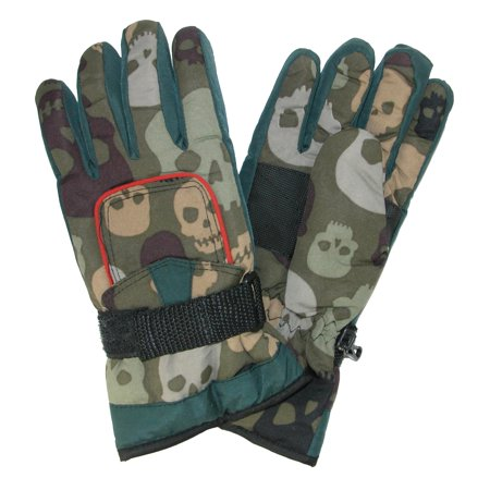 Size  one size Kids' 8-18 Ski Gloves with Pocket