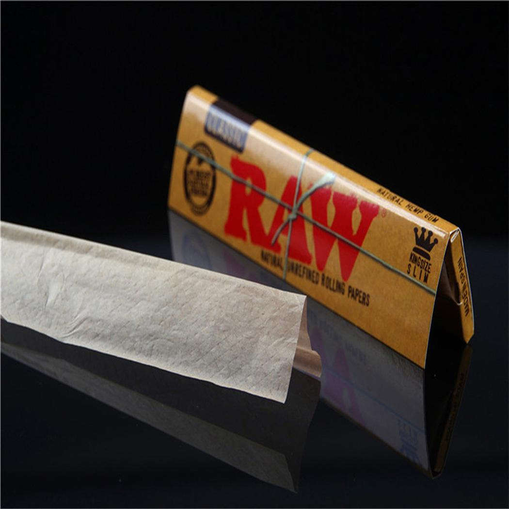50Pcs Hand-rolled Paper,Rolling Paper Translucent Classic Native Natural Way to Roll Paper ROOJER - image 7 de 8