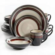Gibson Lewisville 16pc Dinnerware Set - Red