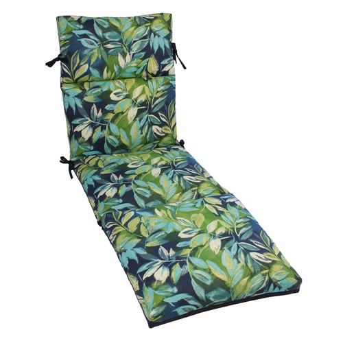 Bay Isle Home Zygi Indoor/Outdoor Chaise Lounge Cushion