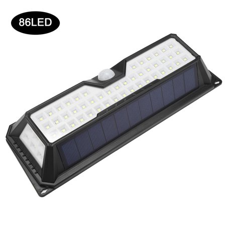 HURRISE LED Solar Power Waterproof Motion-Activated Light Garden Path Lamp with Fittings,Solar Power Garden Light, LED Solar Power Flood Light - image 4 of 8