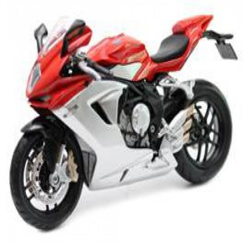 2012 MV Agusta F3 Red Bike Motorcycle 1 12 by Maisto 11093 by