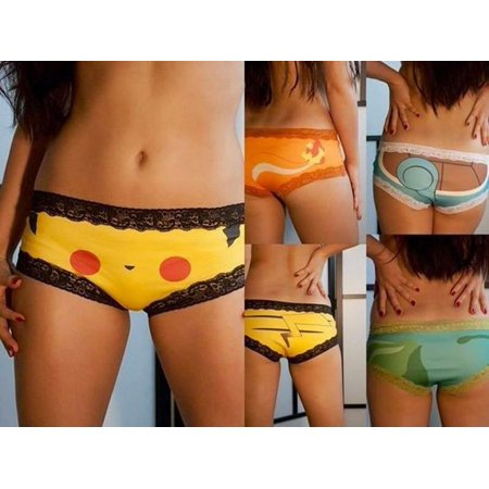 Pokemon Go Sexy Women Panties Briefs Bikini Knickers Underwear Thongs G-string](Pokemon Misty Underwear)
