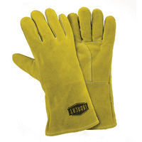 Large Ironcat® Insulated Slightly Select Cowhide Welding Gloves  Dozen
