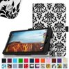 Verizon Ellipsis 8 Case - Fintie Premium Vegan Leather Folio Cover for Verizon Ellipsis 8 4G LTE Tablet, Versailles