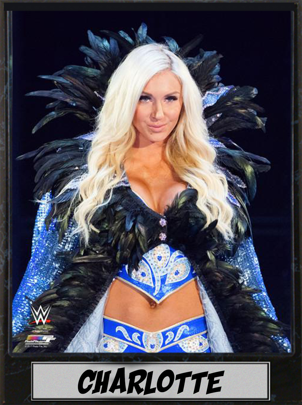 9x12 Photo Plaque Charlotte Flair by Encore Select