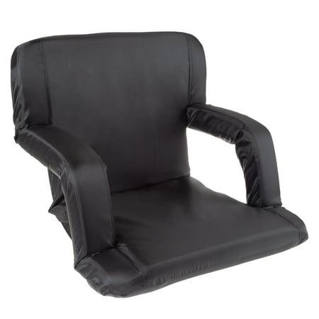 Stadium Seat Chair Bleacher Cushion With Padded Back