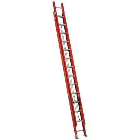 Louisville Ladder Fe3228 E03 28 Fiberglass D Rung Extension