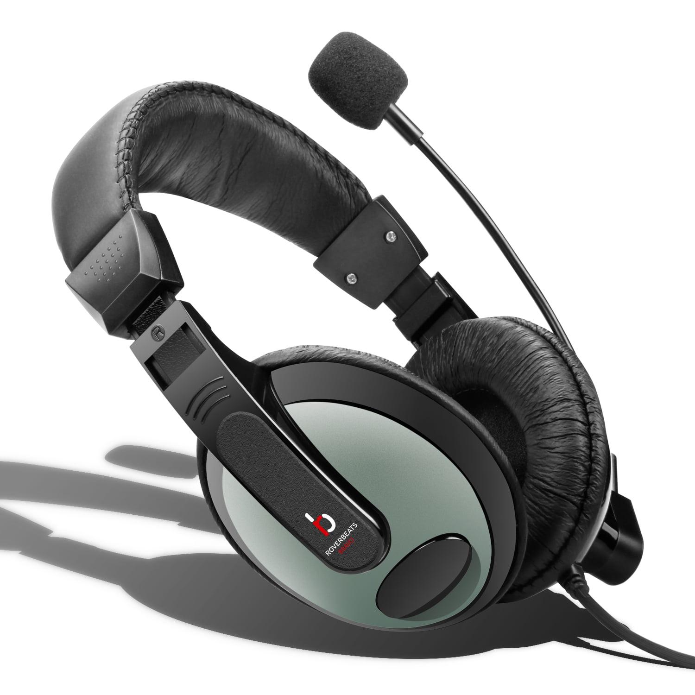 Etekcity Professional Headphones with Mic Black