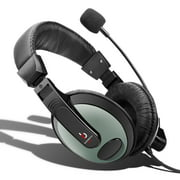 Etekcity Professional Headphones with Mic Black