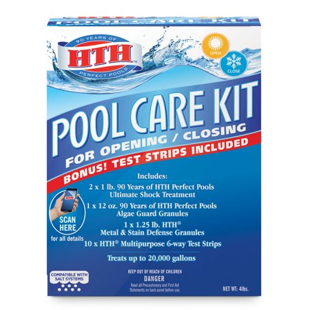 HTH Pool Care Kit for Opening and Closing Swimming Pools