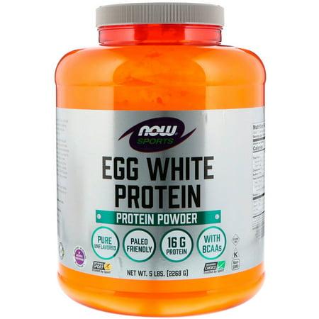 Now Foods  Sports  Egg White Protein Powder  5 lbs  2268 - Egg White Protein Powder