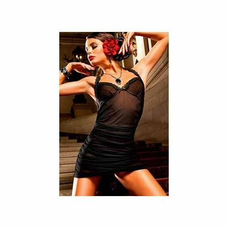 Baci Lingerie Wonderful Tonight Chemise 188 Black