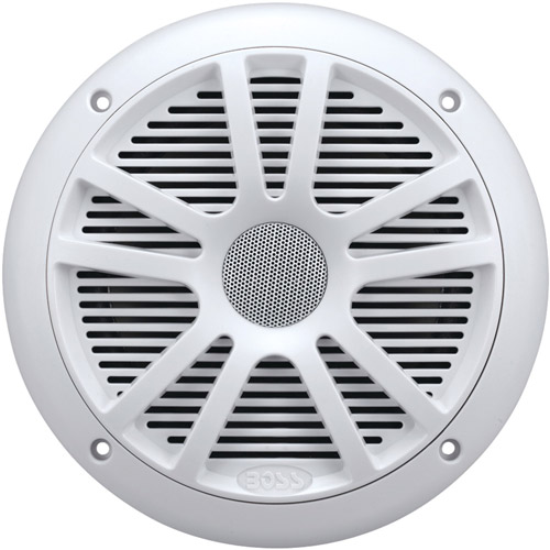 "Boss Audio MR6W Marine 6.5"" Dual Cone Speakers, White (Pair of Speakers)"
