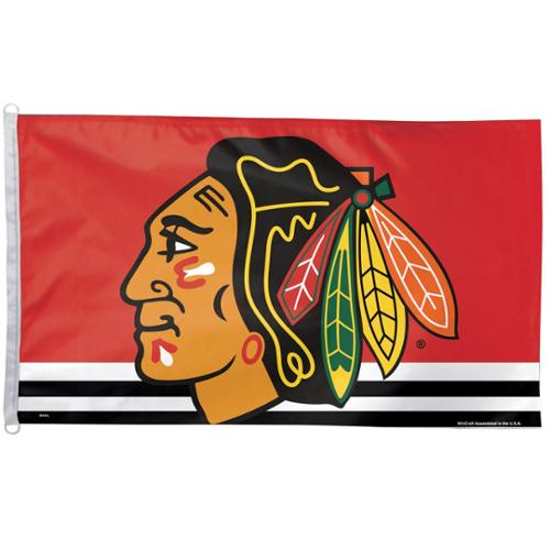 Chicago Blackhawks Official NHL 3ftx5ft Banner Flag by Wincraft