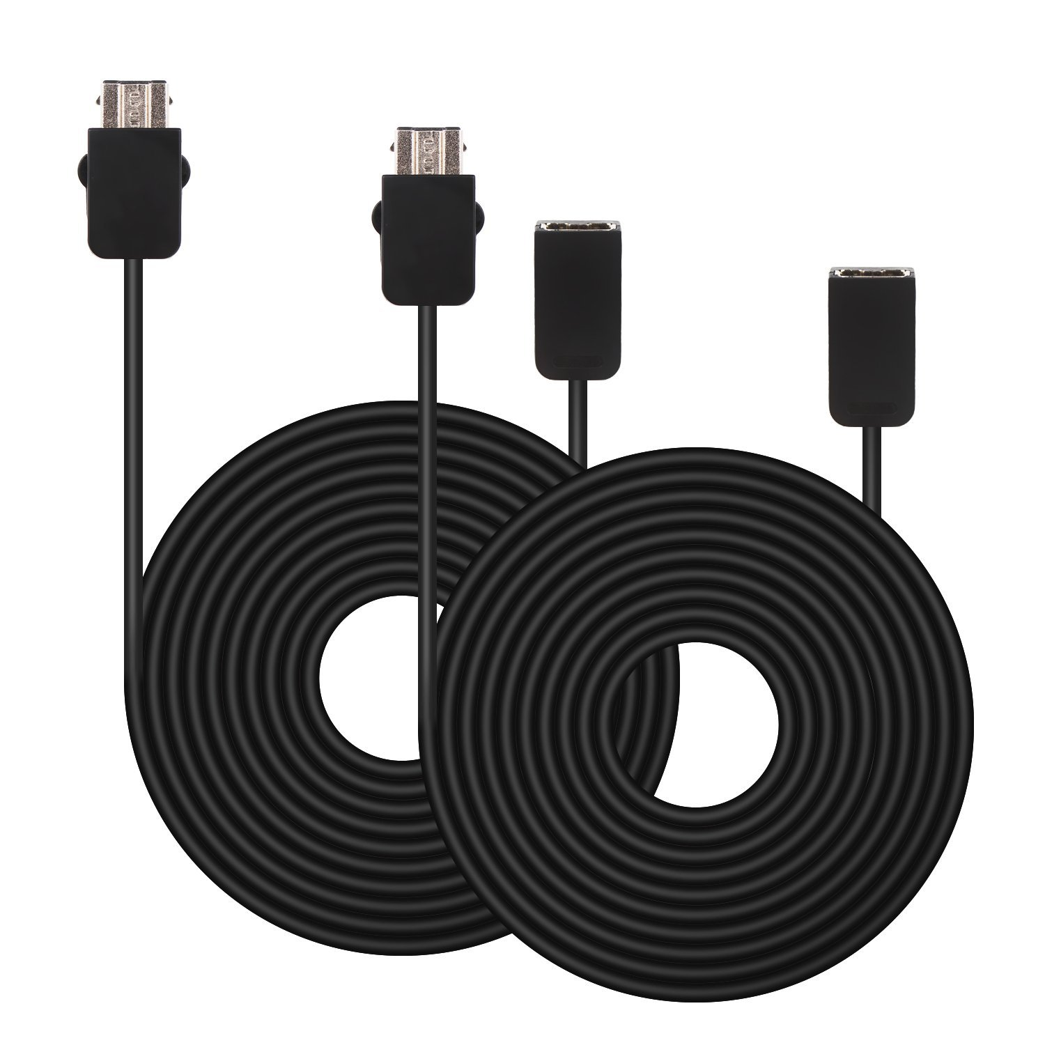 2 Pack Nintendo NES/SNES Classic Edition System 6-ft. Extension Cable Cord
