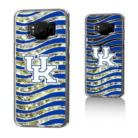 UK Kentucky Wildcats Wave Glitter Case for Galaxy S8