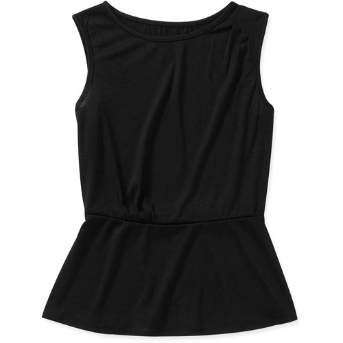Alexis Taylor Women's Sleeveless Peplum Top