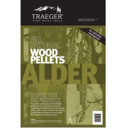 Traeger Bbq Pellets Alder, 20 lb