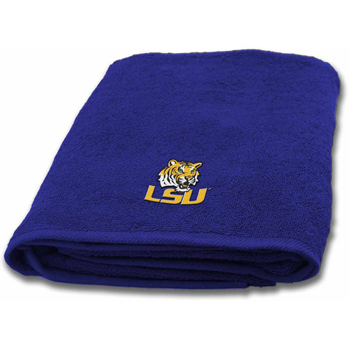 NCAA Louisiana State Applique Bath Towel, 1 Each