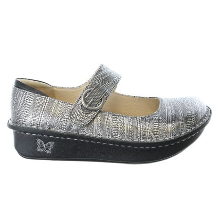 Alegria Paloma Wegde Flat Mary Jane Clog Shoe - Womens