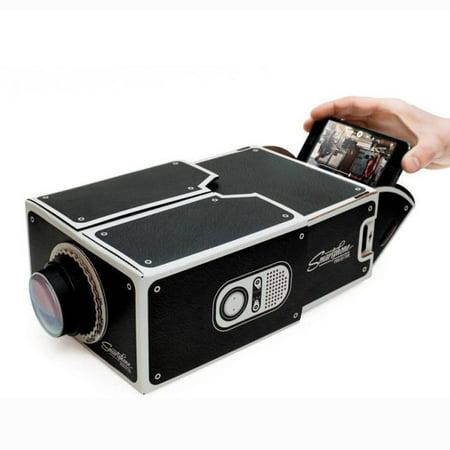 DIY Smart Phone Projector Entertainment Cardboard Projector Home Cinema for $<!---->