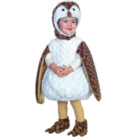 Morris costumes UR26077TXL White Barn Owl Toddler 4T-6T (Owl Custome)