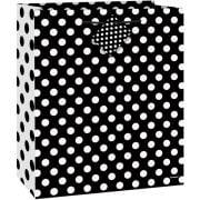 (3 Pack) Black Polka Dot Gift Bag