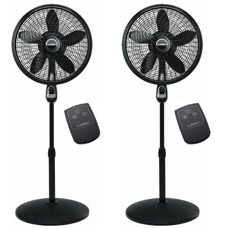 Lasko 18 Inch Oscillating Cyclone Pedestal Stand Fan W