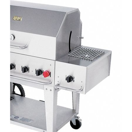 CROWN VERITY SB-MCB Grill Side Burner, LP