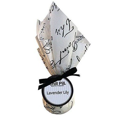 - Hydra Aromatherapy Designer Chill Pill Bath Fizzies / Bomb - Lavender Lily