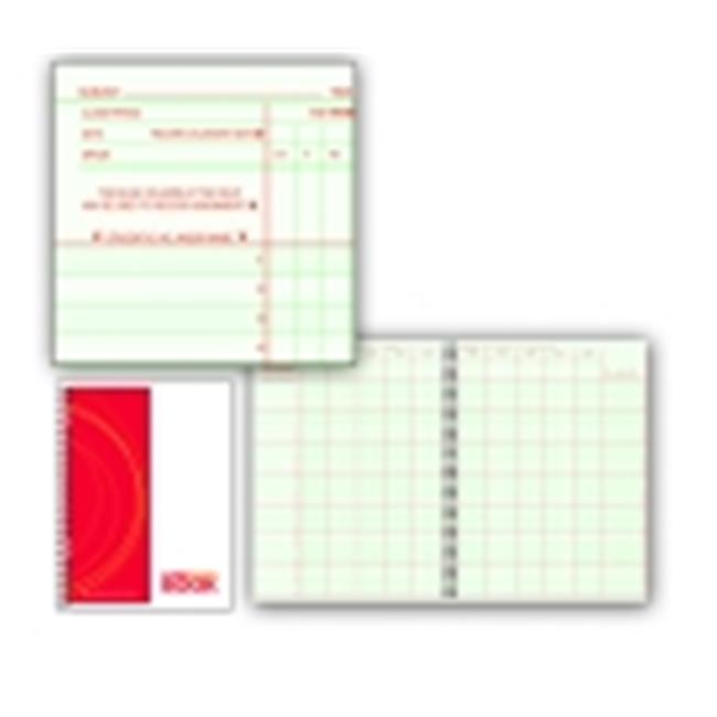 Hammond And Stephens P Large Square Format Wire-O Bound Class Record Book, 35 Students, Green & Red by Hammond & Stephens