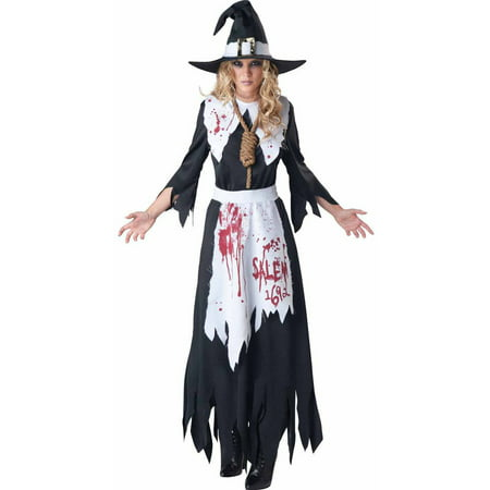 Salem Witch Women's Adult Halloween - Youth Witch Costume