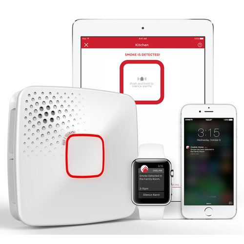 Onelink by First Alert Wi-Fi Smoke + Carbon Monoxide Alarm, Hardwired, Apple Home Kit-Enabled