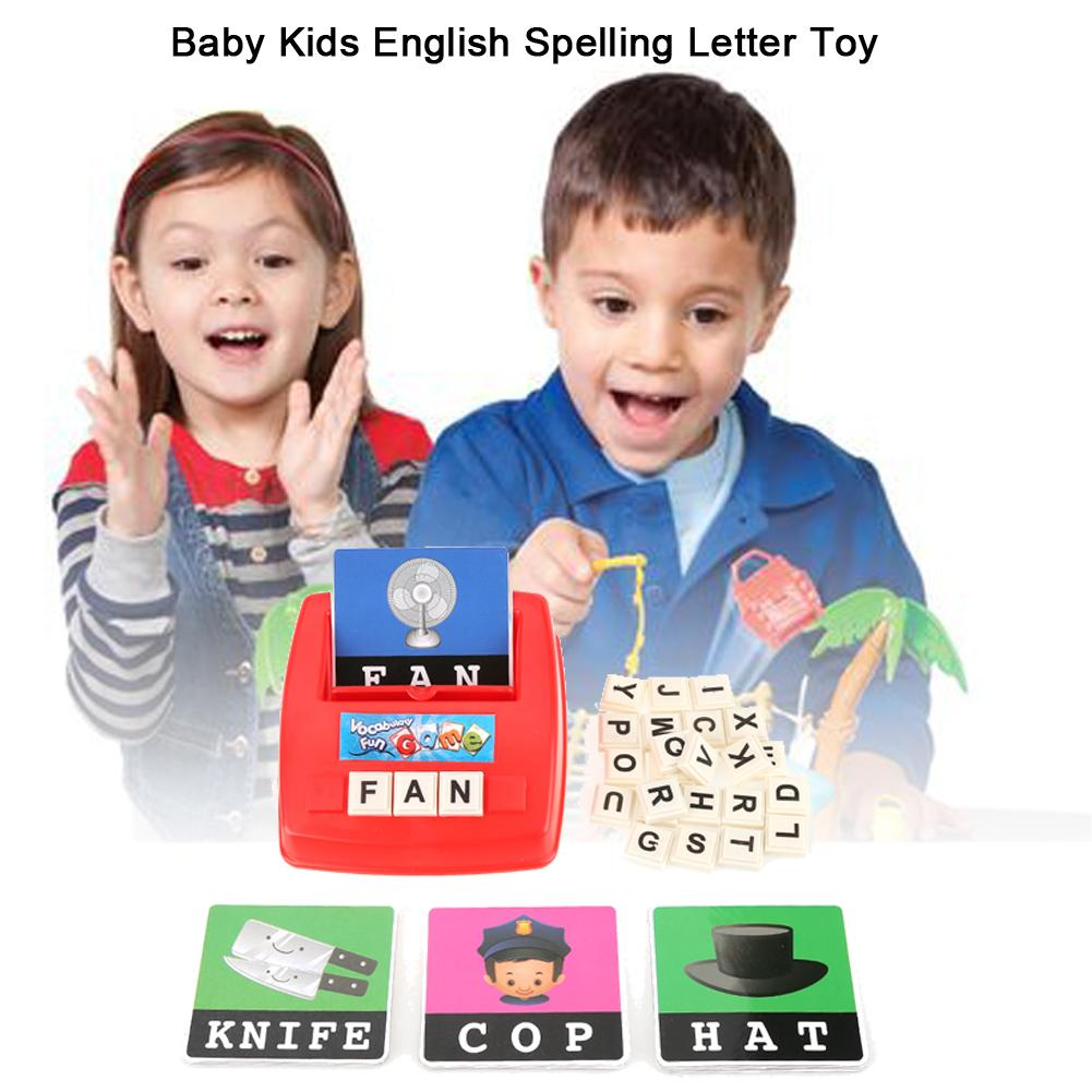WALFRONT Baby Kids Toddler English Spelling Alphabet ...