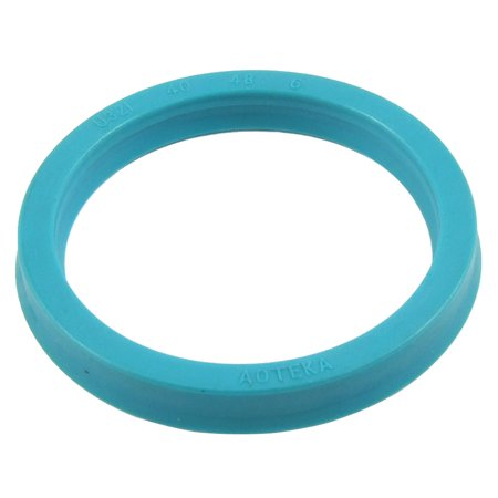 Unique Bargains U32i PU Piston Rod Rotary Shaft Oil Seal 40mm x 48mm x 6mm Piston Rod Seals