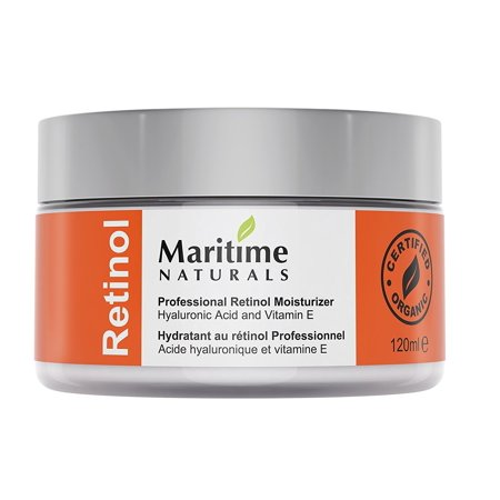 8b102417f170 4oz Retinol Cream - Facial Moisturizer -2.5% Professional Grade Retinol -  Natural Skin Care by Maritime Naturals